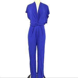 H&M Women jumpsuit Front Twist Wide leg